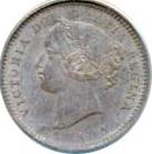 Canada 1900 10 Cents – Victoria Coin Obverse