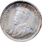 Canada 1931 10 Cents – George V Coin Obverse