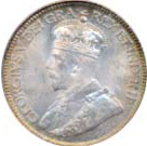 Canada 1936 10 Cents – George V Coin Obverse