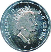 Canada 2000 10 Cents – Elizabeth II Coin  (Commemorative) Obverse