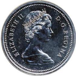Canada 1974 1 Dollar – Elizabeth II Coin Obverse