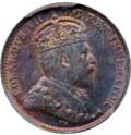 Canada 1904 5 Cents – Edward VII Coin Obverse