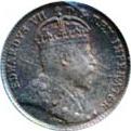 Canada 1906 5 Cents – Edward VII Coin Obverse