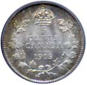 Canada 1913 5 Cents – George V Coin Reverse