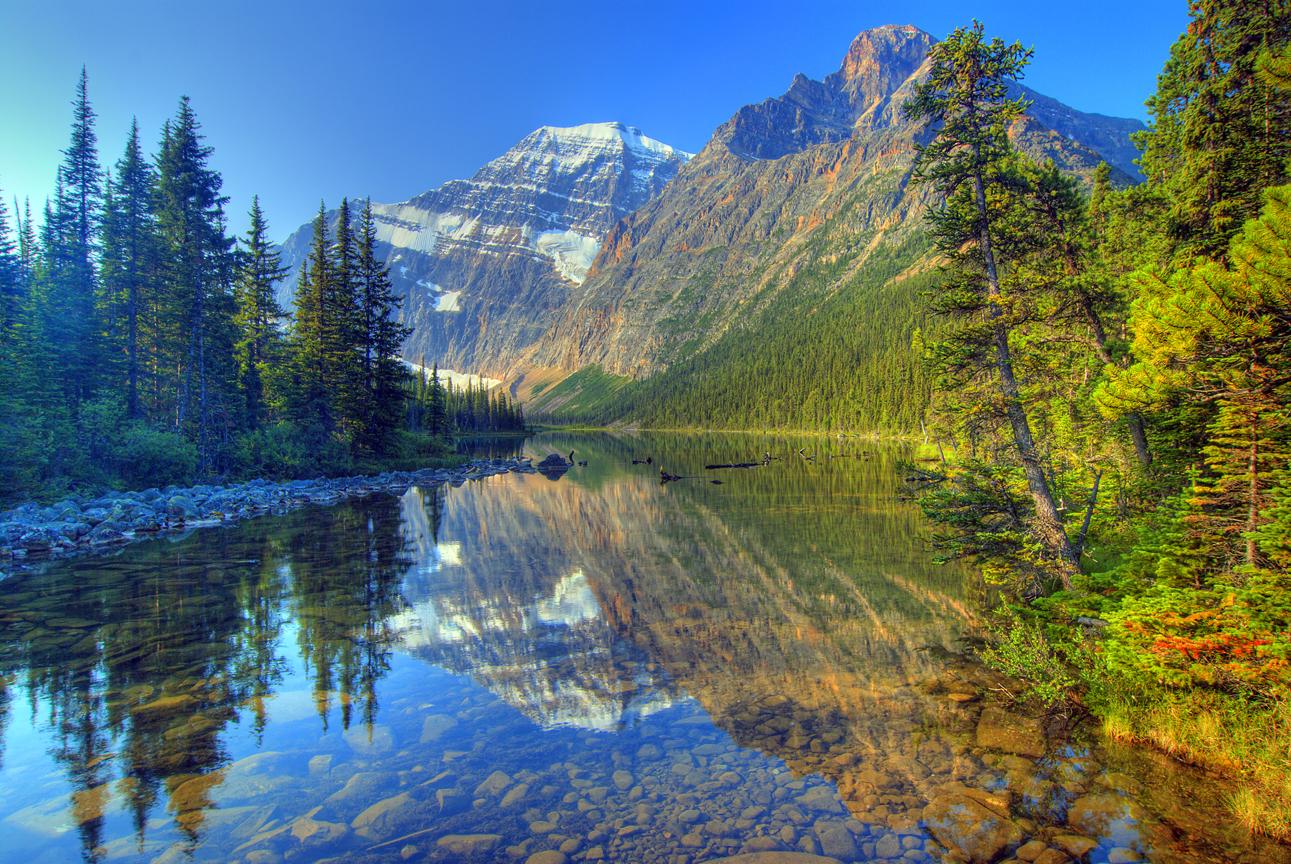 Альберта джаспер национальные пейзажи парка обои