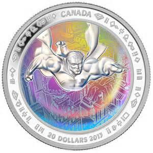 The Mint's popular 2013 Superman™ series included the world's first coin to  feature an achromatic hologram.