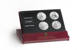 The Mint's 2005 set of hockey legends also featured