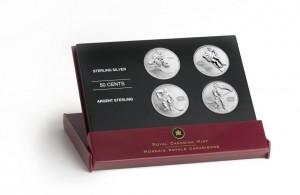The Mint's 2005 set – dubbed Hockey Legends – also featured Jean Beliveau, Guy Lafleur and Jacques Plante.