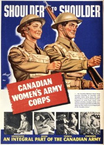 The CWAC was established in response to a personnel shortage experienced during the growth of Canada's army, navy and air force.