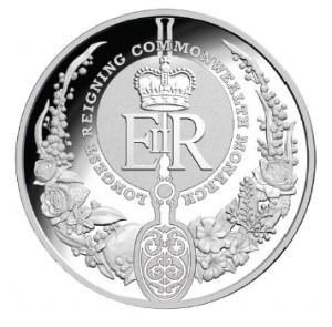 2015 RAM $5 Fine Silver Proof Coin- REV.