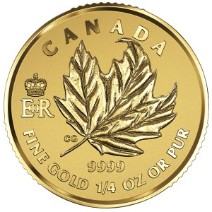 2016 Canada 9999Au Fractional_1-4oz fractional set.