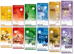The new Swiss banknote series is the first