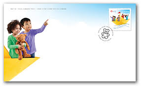 First Day Cover of this year's Foundation stamp.