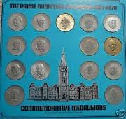 In the 1970s, Shell Oil Canada released  collector commemorative medallions of several of Canada's prime ministers, including Trudeau.