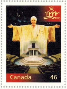 Canada Post also featured the Stratford Festival on this millennium stamp.