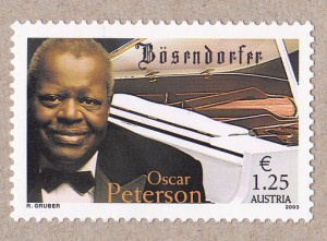 Peterson was also commemorated on this stamp issued by Austria in 2003.