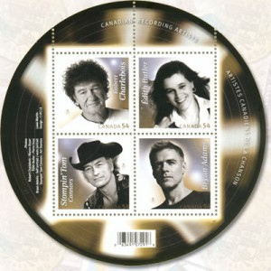 The issue also featured Édith Butler, Stompin' Tom Connors and Robert Charlebois.