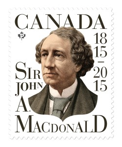 Paprika was recognized with a Certificate of Typographic Excellence by the Type Directors Club for this Sir John A. Macdonald stamp issued in 2015.
