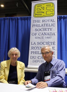 RPSC National Office Executive Assistant Margaret Schulzke (left) and RPSC President George Pepall