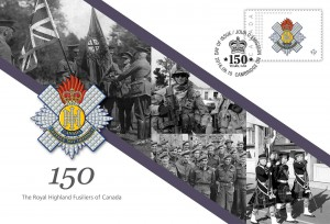 The Royal Highland Fusiliers of Canada - Commemorative Envelope