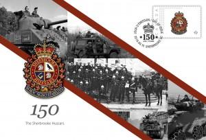 The Sherbrooke Hussars - Commemorative Envelope