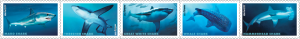 The USPS will also issue a set of shark-themed stamps in 2017.