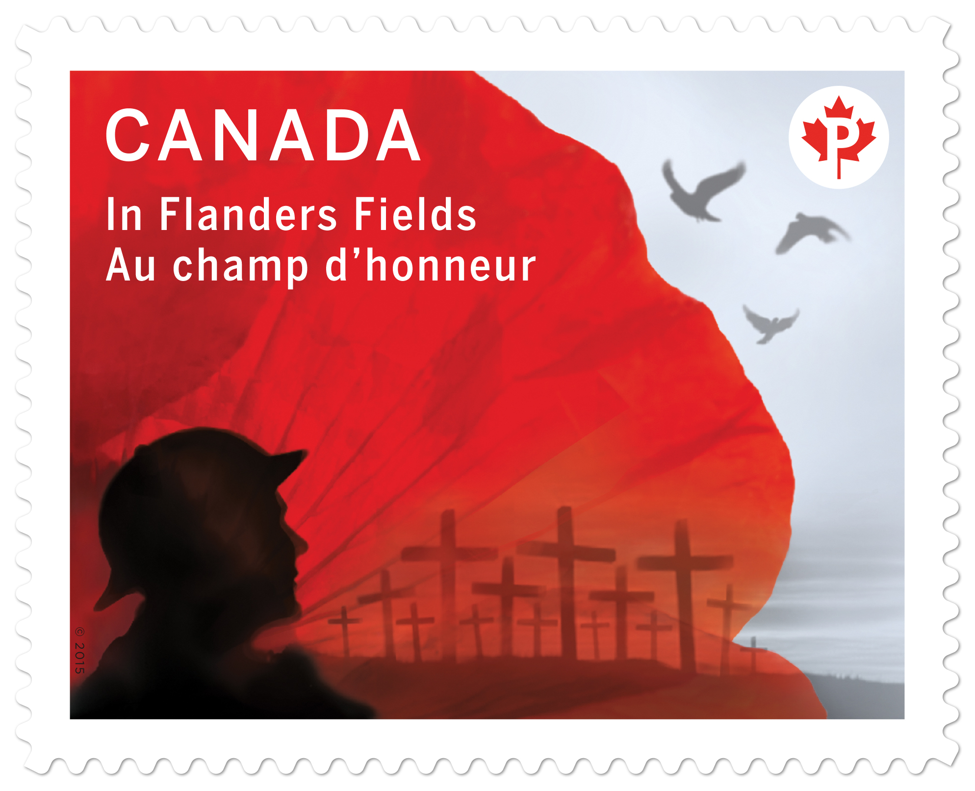 Remembering Canadas Poppy Stamps Canadian Stamp News