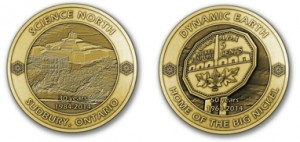 Dynamic Earth is releasing a commemorative medal in celebration of the Big Nickel's birthday as well as Science North's 30th anniversary.