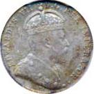 Canada 1904 10 Cents – Edward VII Coin Obverse