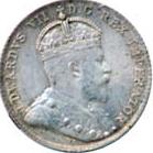 Canada 1906 10 Cents – Edward VII Coin Obverse