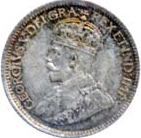 Canada 1919 10 Cents – George V Coin Reverse