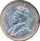 Canada 1932 10 Cents – George V Coin Obverse