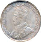 Canada 1933 10 Cents – George V Coin Obverse