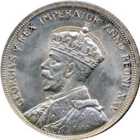Canada 1935 1 Dollar – George V Coin Obverse