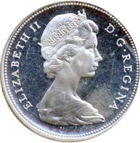 Canada 1966 1 Dollar – Elizabeth II Coin Obverse