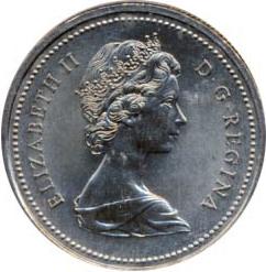 Canada 1973 1 Dollar – Elizabeth II Coin Obverse