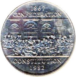 Canada 1982 1 Dollar – Elizabeth II Coin Reverse