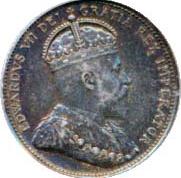Canada 1903 25 Cents – Edward VII Coin Obverse
