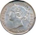 Canada 1870 5 Cents – Victoria Coin Obverse