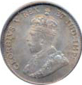 Canada 1911 5 Cents – George V Coin Obverse