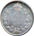 Canada 1911 5 Cents – George V Coin Reverse