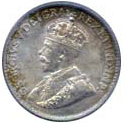 Canada 1913 5 Cents – George V Coin Obverse