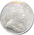 Newfoundland 1904 5 Cents – Edward VII Coin Obverse