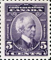 laurier stamp