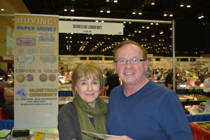 Karen and Don Olmstead of Olmstead Currency.