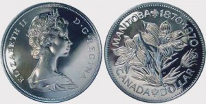 In 1970, the Canadian flower was featured on a Canada dollar to mark the 100th anniversary of Manitoba's accession.