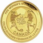 The Soccer Ball $75 gold coin