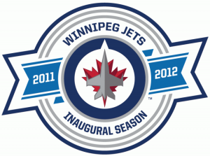 This patch commemorated the Winnipeg Jets' 2011-12 season, the team's first back in the Manitoba capital in 15 years.