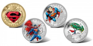 Last year, the Mint struck an additional four coins for its Superman series.