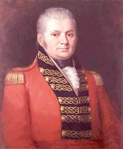 Simcoe first sailed into Toronto in July 1793, when there was no town.